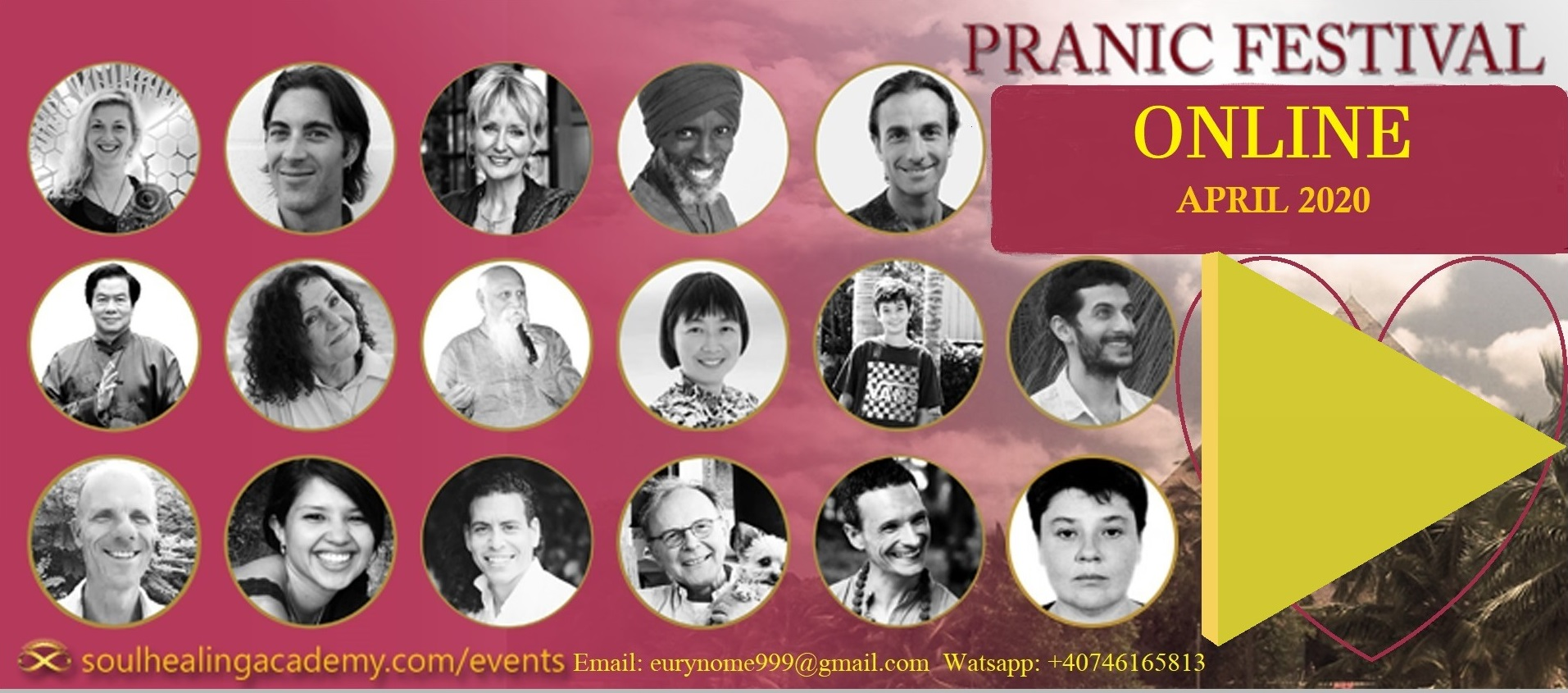 Pranic Festival Online – Solutions in Times of Change