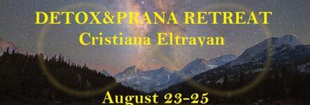 Detox & Prana Retreat with Cristiana Eltrayan